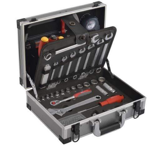 "Tixit Alu-Werkzeugkoffer ""Kompakt"" 92 teilig. 60800"