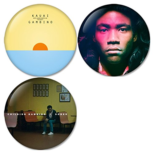 Childish Gambino : Sober Pinback Buttons Badges/Pin 1.25 Inch (32mm) Set of 3 New