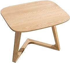 Simple Small Table/Solid Wood Coffee Table Sofa Corner Nordic White Oak Racks Creative Small Apartment Living Room Furniture