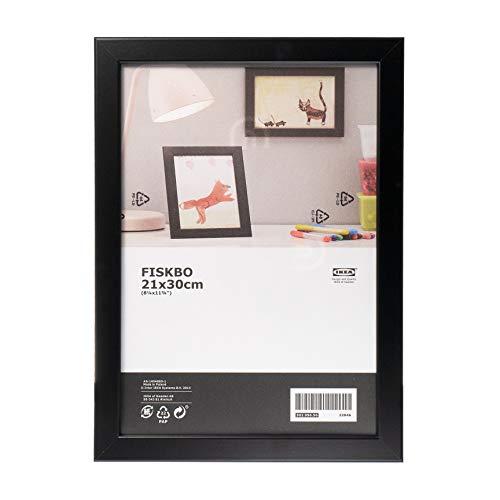 Ikea FISKBO Photo Frame (21 x 30 cm, Black) by FISKBO