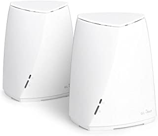 GL-B2200 (Velica) Tri-Band Wireless Mesh Router, 400Mbps (2.4G) + 2x867Mbps (5G), OpenWrt Pre-Installed, AdGuard Supporte...