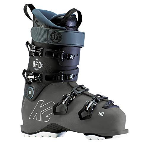K2 - Scarponi da sci da uomo BFC 90, colore antracite/nero, numero 40 (US: 7.5-UK: 6.5-Mondo: 255) -10D2200.1.255