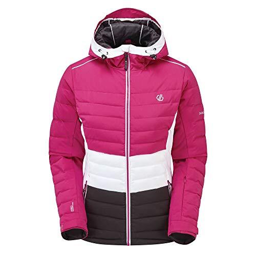 Dare 2b Damen Succeed Jacket wasserdichte isolierte Jacken, ActivePk/Blk, UK 10 - Bust 34