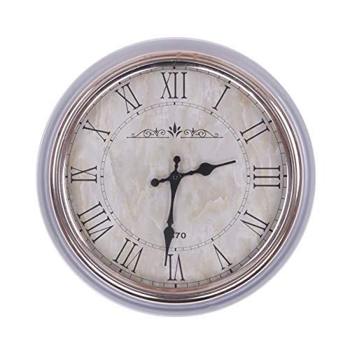 Homevibes Reloj De Pared Estilo Vintage 1870, Medida 36cm, Decoracion De Pared,