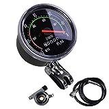 Fahrrad Tachometer Mechanischer Tachometer Roter Zeiger 0-60km / H Geeignet Für 26 28