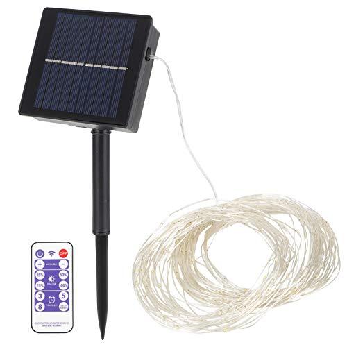 banapo Solar Fairy Lights, Outdoor String Lights, Smart Control for Garden Courtyard Christmas Decor