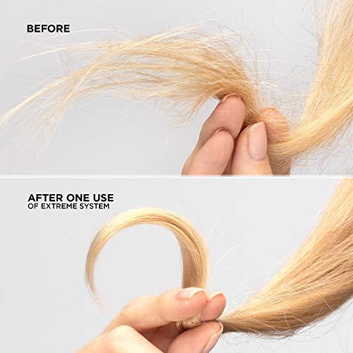 Redken - Extreme, Shampoo Professionale per capelli danneggiati, formula con proteine vegetali, fortifica e ripara i capelli sensibilizzati con un trattamento specifico delle zone indebolite, 300 ml