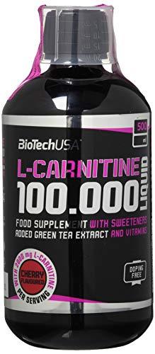 Biotech USA L-Carnitine 100.000 Liquid, 500ml , Kirsche