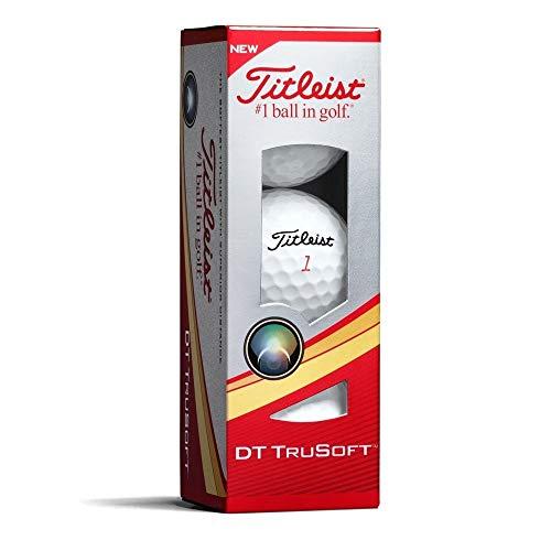 Titleist DT TruSoft Sleeve of 3 Golf Balls