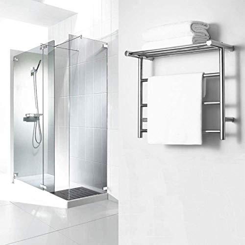 GYW-YW Calentador de Toalla Montado en la Pared Calentador de Toallas;Termostática eléctrica Baño Recta toallero Calentador del radiador por un Elegante baño