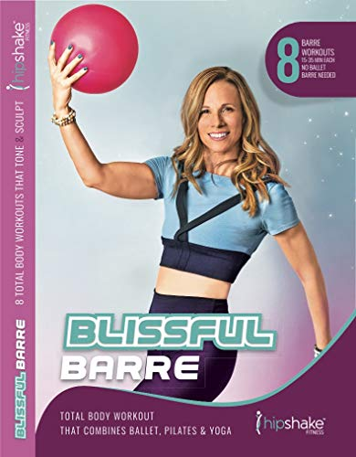 HIPSHAKE Blissful Barre Workout DVD. 8 Barre Workouts You can do at Home. Strength Training Program for Beginners & Advanced Dancers. Low Impact, Maximum Sweat!
