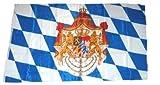 Fahne / Flagge Königreich Bayern NEU 150 x 250 cm