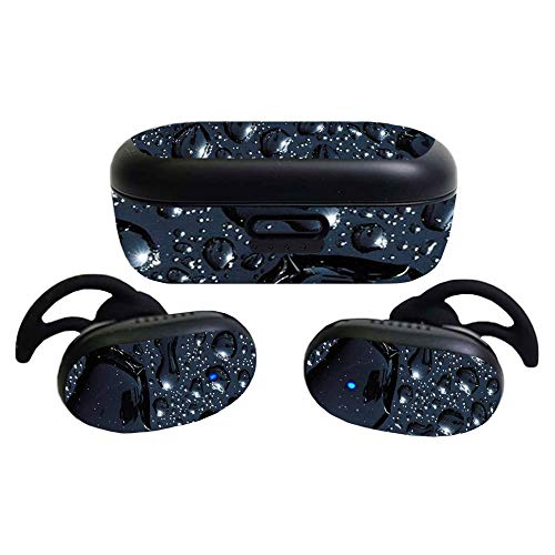 MightySkins Glossy Glitter Skin Compatible with Bose QuietComfort Earbuds (2020)