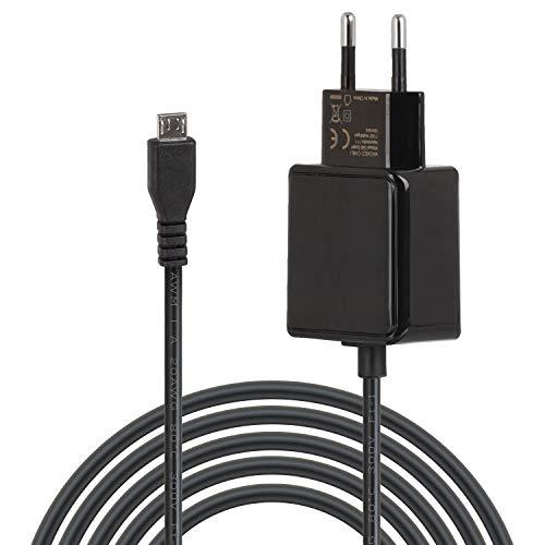 Wicked Chili Micro-USB Netzteil kompatibel mit Raspberry Pi 3, Pi 2 Modell B, B Plus b+ Ladegerät, Stecker-Netzteil Pi 3 B Plus, Pi Zero, Zero-W (100-240V, 3.1 A, mit Noise Cancelling gegen Fiepen)