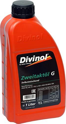 Divinol Zweitaktöl G 1 Liter (grün)