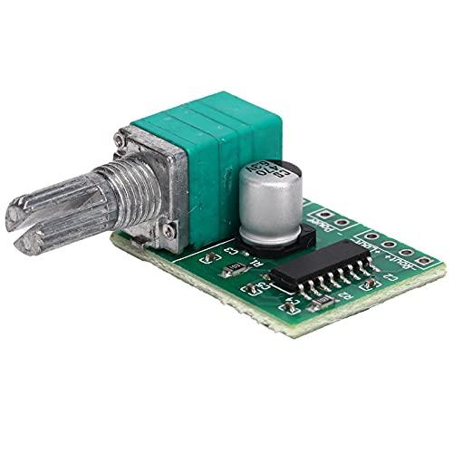 PAM8403 Mini Scheda Amplificatore di Potenza Digitale, Modulo Scheda Amplificatore di Potenza Digitale DC 5V USB con Interruttore, Controllo Volume 3W + 3W