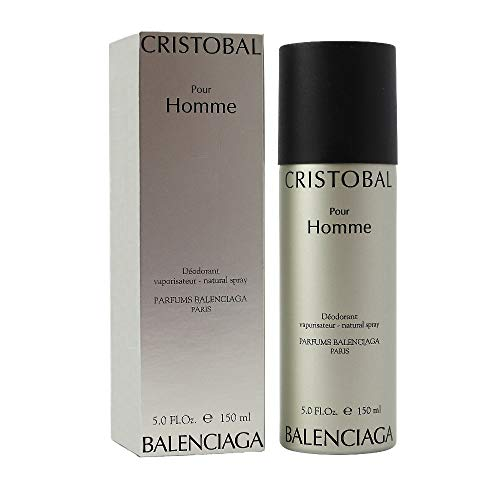 Cristobal Men Pour Homme Balenciaga Deodorant Spray 150 ml