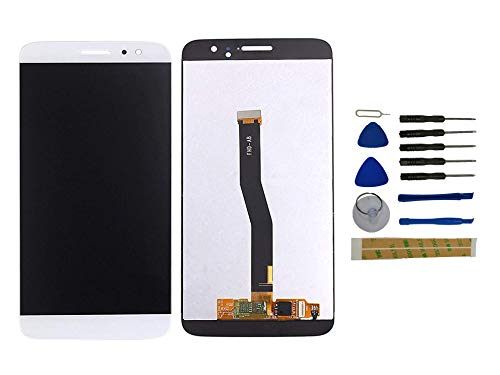 Yixi Pantalla para Huawei Nova Plus Pantall LCD Pantalla Táctil Blanco Repuesto de Pantalla Recambio (sin Marco)