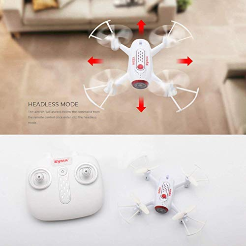 Ballylelly Syma X22W 2.4G WiFi Telecamera FPV Real Time Selfie RC Drone Quadcopter Hover Bianco
