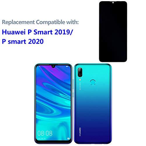 swark LCD Display Kompatibel mit Huawei P Smart 2019 Pot-LX3 Pot-LX1 POT-AL00 /Huawei P smart 2020 (Nicht P Smart 2017 und Nicht P Smart Plus) (Schwarz Ohne Rahmen) Touchscreen + Tools
