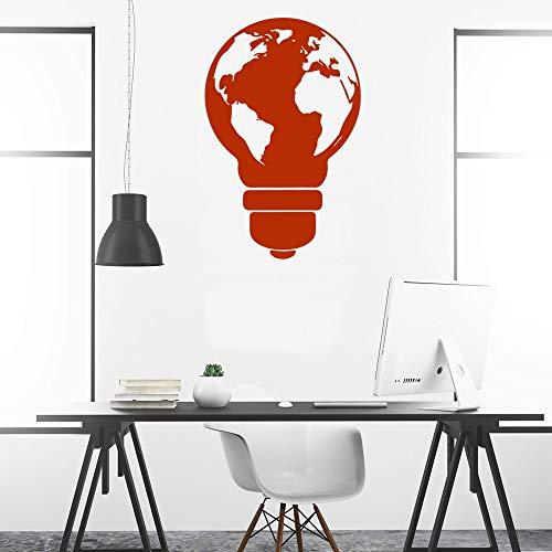 YuanMinglu Klassische Lampe Hauptdekoration Moderne dekorative Wandaufkleber abnehmbare Acrylwand 42...