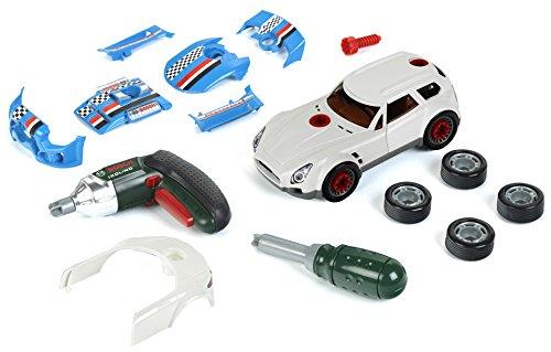 Theo Klein 8368 - Bosch Car Tuning Set, 3 in 1, Spielzeug