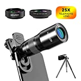 Best Iphone Lens - Phone Camera Lens, NOVPOT Pro Phone Lens Kit Review