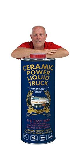 CERAMIC POWER LIQUID TRATTAMENTO MOTORE ATTIVO PER 150.000 KM Ceramic power liquid Traitement Moteur actif pour 150 000 km Truck 1350 ml pour moteurs jusqu'à 7 500 cc.
