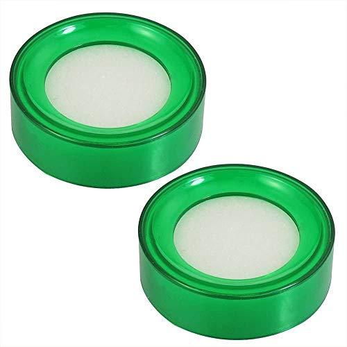 A1SONIC® - Juego de 4 esponjas redondas con amortiguador de colores surtidos