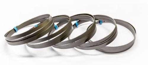 5 x Bimetall Sägeband 687,57 x 13 x 0,5 mm mit 14/18 ZpZ für Akku Bandsäge Milwaukee M12 BS-402 C