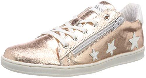 s.Oliver Mädchen 43205 Sneaker, pink (rose/gold), 36 EU