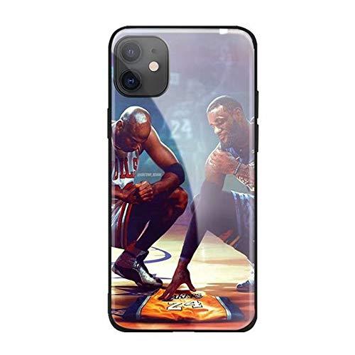 DM Compatible con iPhone 6/iPhone 6S Funda, Cubierta Trasera de Cristal Templado + Marco de TPU Carcasa híbrida a Prueba y arañazos Funda iPhone 6/iPhone 6S [CHY1100002]