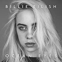 by COOLEST Billie EILISH: Ocean Eyes Limited 2018 giclee Record LP Reprint Poster 12 x 12 inch Poster Rolled