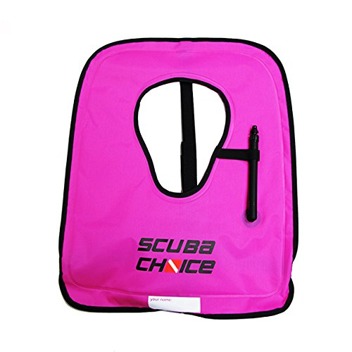 Scuba Choice Adult Orange Snorkel Vest With Front Pocket /& Whistle