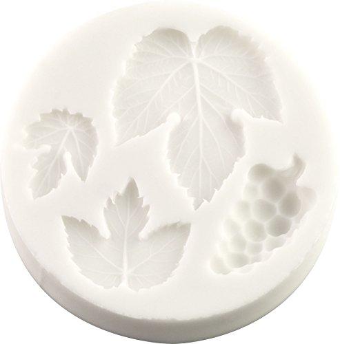 Stampo in silicone a forma di uva e foglie di vite