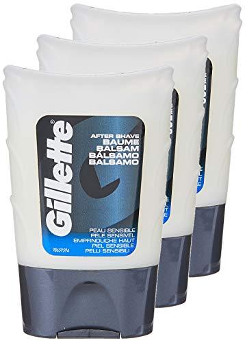 Gillette After Shave Classic Gel Piel SensiblE - 75 ml - [pack de 3]