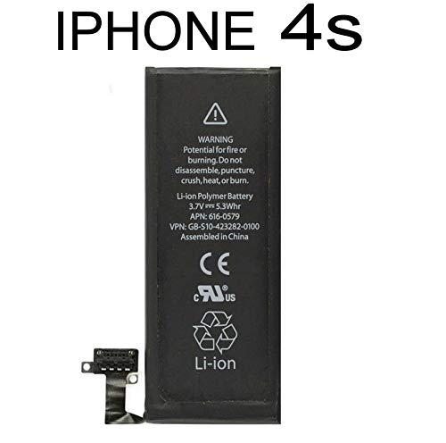 Todobarato24h Bateria Compatible con iPhone 4S Interna 1430 mAh 616-0579 616-0479 616-0580 BGS011082