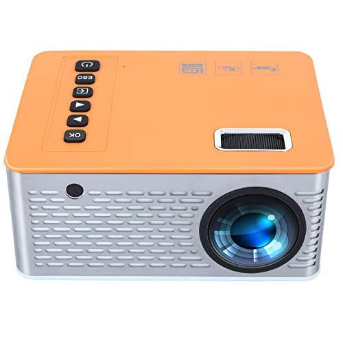 Proyector Portátil Mini Proyector Led Hogar USB Teléfono Móvil 10 Ansi 480 * 272 Tarjeta TF AV 5V 2A U Disco DVD TV Box 3.5Mm