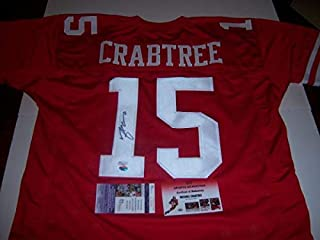 Michael Crabtree Sanfrancisco 49Ers JSA Autographed Signed Jersey