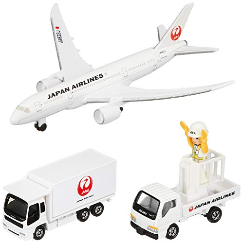 Tomica - Boeing 787 Airport Set (JAL)
