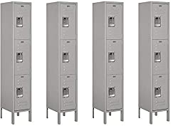 Salsbury Industries Triple Tier Metal Locker