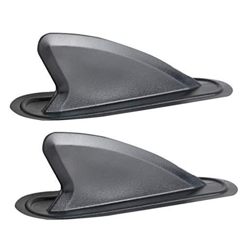 SM SunniMix 1 Par de Aletas Centrales de Inflables Stand Up Paddleboard Tabla de Surf Reemplazo de La Aleta Central