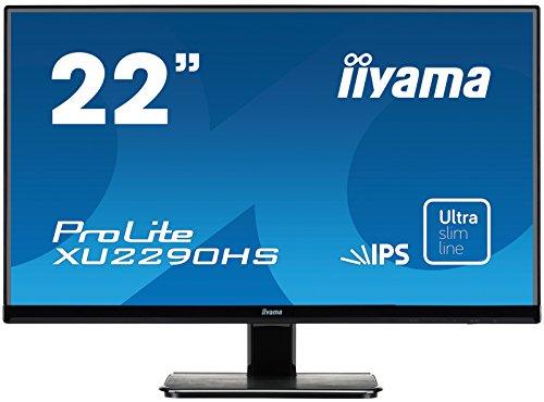 iiyama ProLite XU Niet in hoogte verstelbaar. 22 inch schwarz Full HD 1920x1080