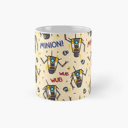 Cl4p-tp Pattern Classic Mug Best Gift Funny Coffee Mugs 11 Oz