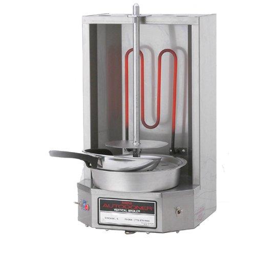 120 Volts Optimal Automatics 3PEM Mini Autodoner 12 lb. Vertical Broiler - Electric