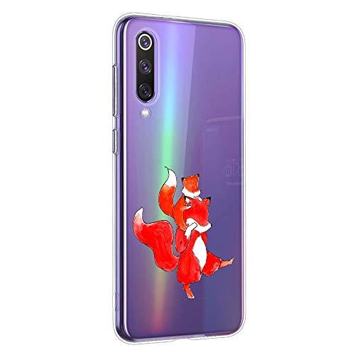 Oihxse Compatible con Xiaomi Redmi GO/Redmi 5A Silicona Funda Transparente Gel TPU Flexible Protectora Carcasa Dibujos Elefante Patrón Ultra Thin Estuche Cover Case(A3)