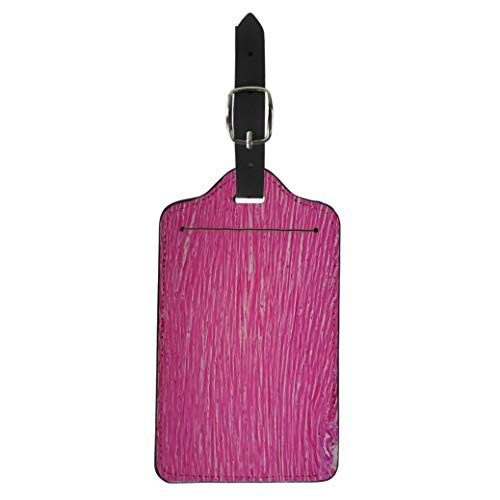 Pinbeam Luggage Tag Tissue Histology of Human Cardiac Muscle Under Microscope Suitcase Baggage Label
