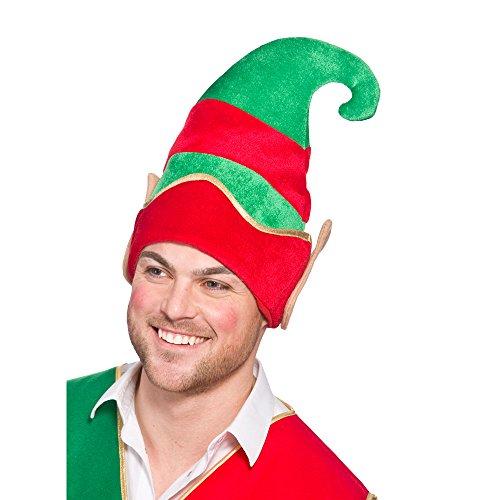 Deluxe Chapeau Elf chapeau avec oreilles pour crèche de Noël de Noël Festive déguisement