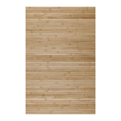 STORESDECO Alfombra de Bambú Natural, Antideslizante, Ideal para salón, baños, pasillos. ¡Disponible...