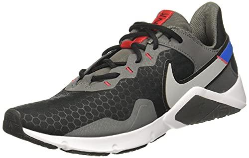 Nike Legend Essential 2 Deportivas Hombres Gris/Azul - 42 - Multideporte Shoes